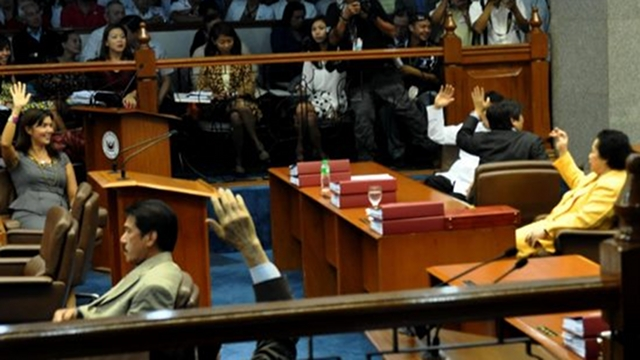 SENATE'S TURN. After the House vote on 2nd reading, it will be the Senate's turn to vote on the RH bill on second reading Monday, and possibly proceed to 3rd reading on the same day. File photo from Sen Pia Cayetano's Facebook page.