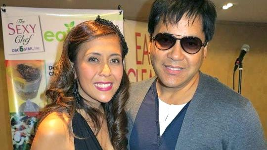 RACHEL WITH MARTIN NIEVERA