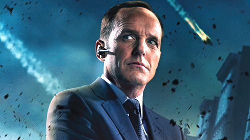 HE'S BACK. Clark Gregg as Agent Phil Coulson will star in his own show. Image from the Geek Tyrant Facebook page
