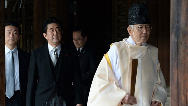 China: Abe 'not welcome' after visiting war shrine