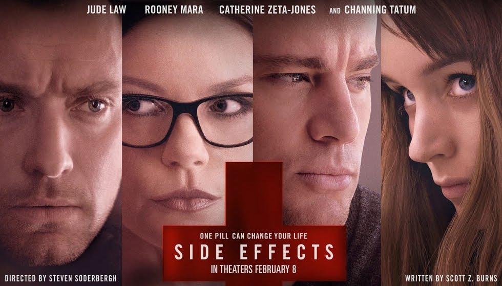 SIDE EFFECTS. Side Effects is a psychological thriller that explores the life of a woman who experiments with drugs while awaiting the release of her husband from jail.