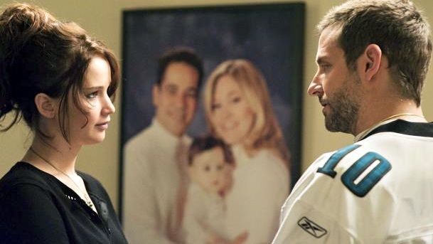 'SILVER LININGS PLAYBOOK' SAW Jennifer Lawrence and Bradley Cooper as a 'cute' couple. Image from the movie's Facebook page