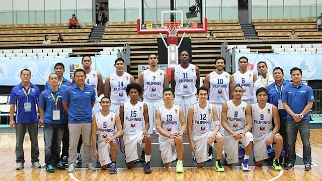 File photo from Smart-Gilas Pilipinas official Facebook page of the team that played in Dubai