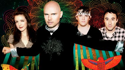 THE SMASHING PUMPKINS. Photo courtesy of Louie Barretto