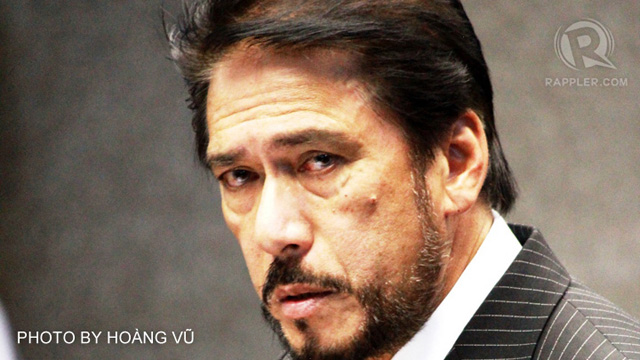 ETHICS CASE. Senate Majority Leader Vicente Sotto III is the subject of an ethics case that academics will file against him on Tuesday for plagiarism. File photo