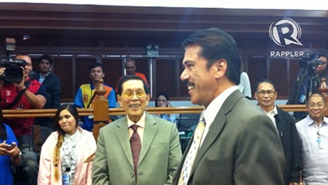 PARLIAMENTARY IMMUNITY. Senate President Juan Ponce Enrile and Senate Majority Leader Vicente Sotto III says Sotto enjoys parliamentary immunity amid renewed complaints of plagiarism against him.