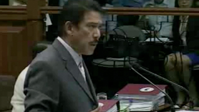 'NOT PLAGIARISM.' Senate Majority Leader Tito Sotto apologizes to the Kennedy family if his use of Robert Kennedy's speech upset them but maintained that he did not commit plagiarism. Screenshot from Senate livestream