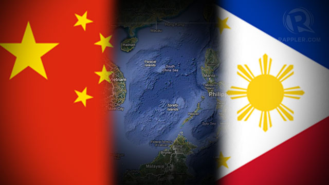 DISPUTED AREA. The Philippines lodged in 2012 a record 15 formal protests over China's actions in the South China Sea