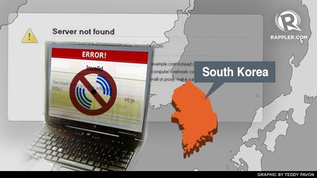 SYSTEMS UP. South Korean companies recover after a cyberattack.