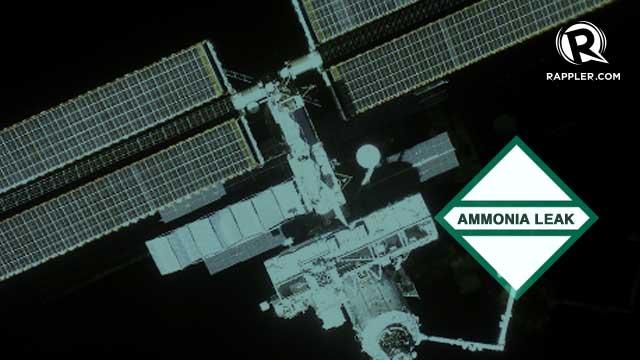 space station ammonia leak - photo #13