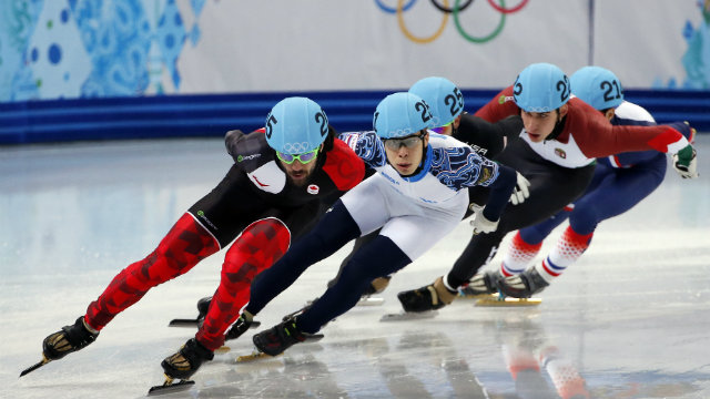 Fil-Am Celski finishes fourth in Winter Olympics speed skating