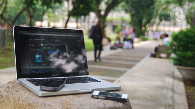 UST: LTE hunting at the University of Santo Tomas