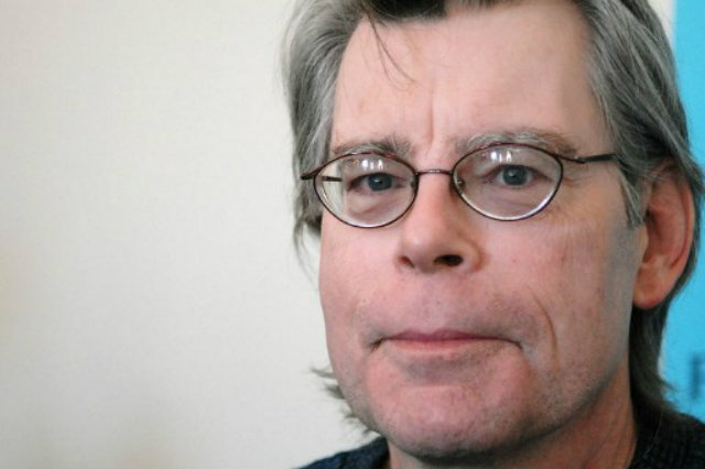 GUN VIOLENCE. Best-selling author Stephen King decries US gun violence in his latest work. Photo by AFP