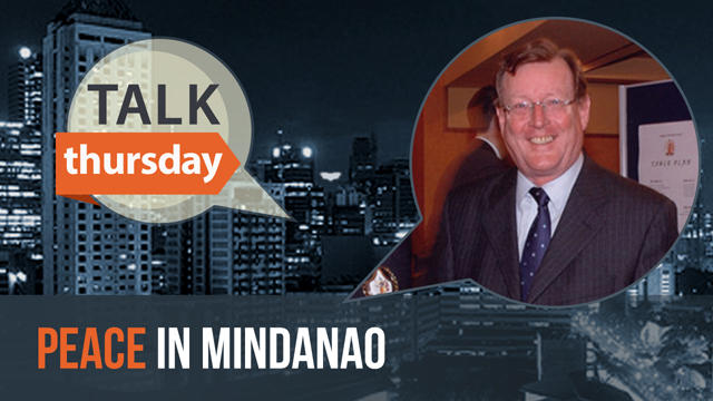 Rappler talks to Lord David Trimble on #TalkThursday