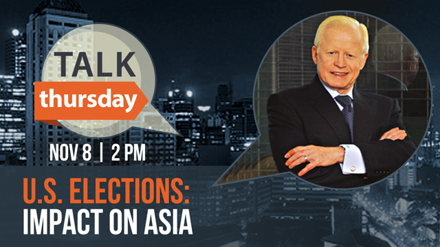#TalkThursday with Amb. Jose Cuisia