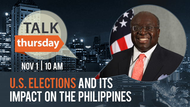 #TalkThursday with Amb. Harry Thomas