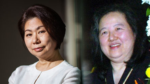 SECOND-GENERATION WOMEN. Sy family's Tessie and Que family's Vivian are among Asia's most powerful businesswomen this year, according to Forbes magazine. Photo from Forbes website