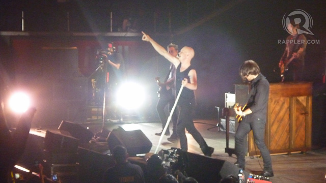 ONE HIT AFTER ANOTHER. Yet The Fray still had more for their Pinoy fans