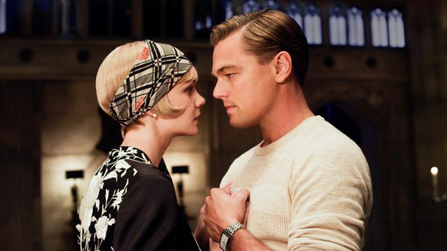 'THE GREAT GATSBY' 2013. Carey Mulligan as Daisy Buchanan and Leonardo DiCaprio as Jay Gatsby. Photo from the movie's Facebook page