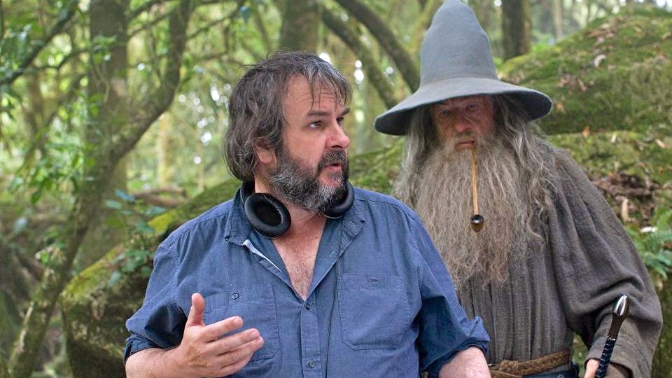 PETER JACKSON: BEATLES FAN. According to the Facebook page of 'The Hobbit,' 4 of the cameras on set were named John, Paul, George and Gringo in tribute to the director's favorite band. Image from The Hobbit Facebook page