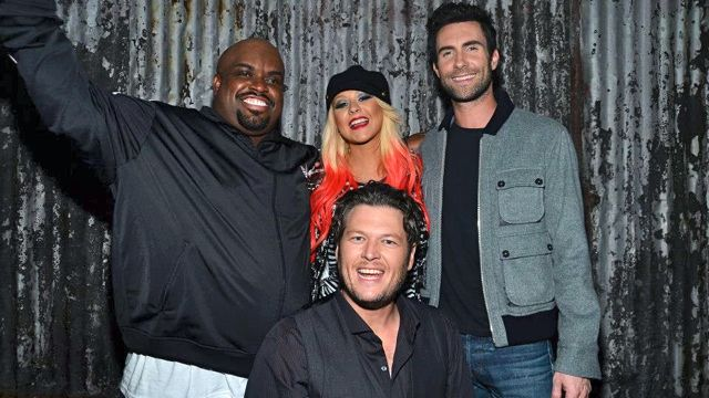TODAY'S FAB FOUR. The Voice season 3 judges Cee Lo Green, Christina Aguilera, Adam Levine and Blake Shelton. Image from The Voice Facebook page