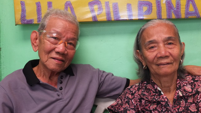 THE HEALING POWER OF LOVE. This is embodied in the story of Anaceto Claveria and his wife, Narcisa. Photo by Pia Ranada