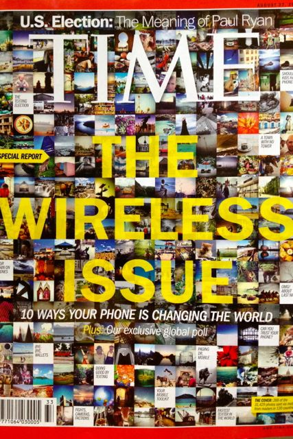 TIME Magazine's first-ever Wireless Issue (August 27, 2012)