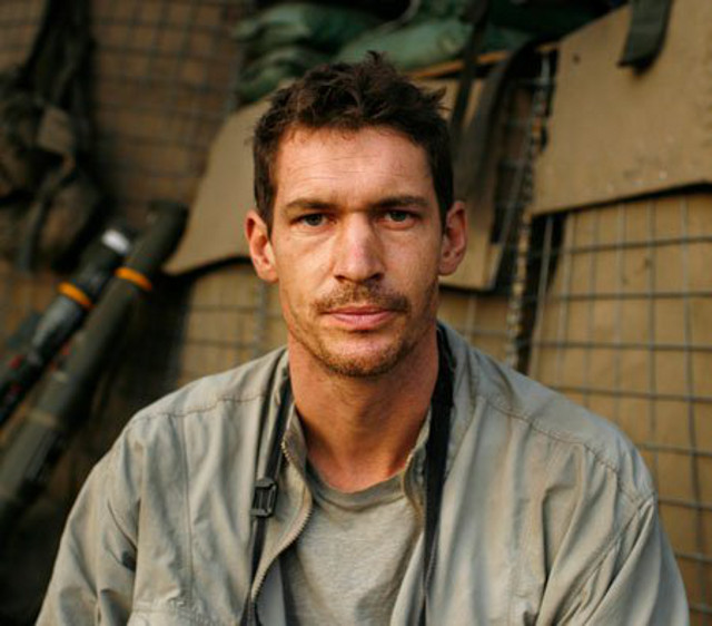IMAGE-MAKER. Tim Hetherington, 1970-2011. Photo from the RIP Tim Hetherington Facebook page