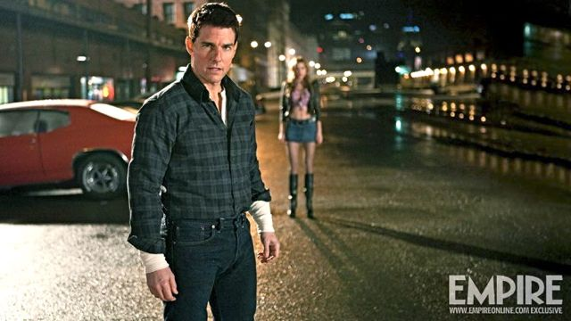FROM ROCK TO ACTION. After starring as Stacee Jaxx in 'Rock of Ages' this year, Cruise stars as Jack Reacher in the film of the same title this December. Image from the Jack Reacher Official Facebook page