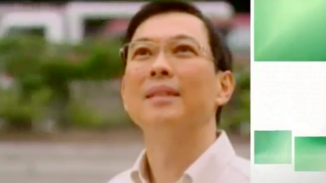JOLLY ENTREPRENEUR. Jollibee head Tony Tan Caktiong is not only an ABAC representative, he is one of President Aquino's favorite businessmen. Screenshot from video.