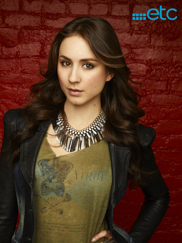 SUNNY, SASSY, CENTERED. Troian Bellisario as Spencer Hastings in 'Pretty Little Liars.' Photo courtesy of ETC