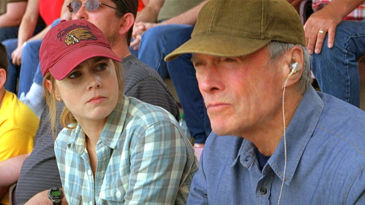 Clint Eastwood plays Amy Adams' father Gus in 'Trouble with the Curve.' Image from the movie's Facebook page