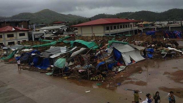 CALAMITY. Typhoon Yolanda's wrath in Coron, Palawan in November 2013. File photo from Office of the Mayor of Coron