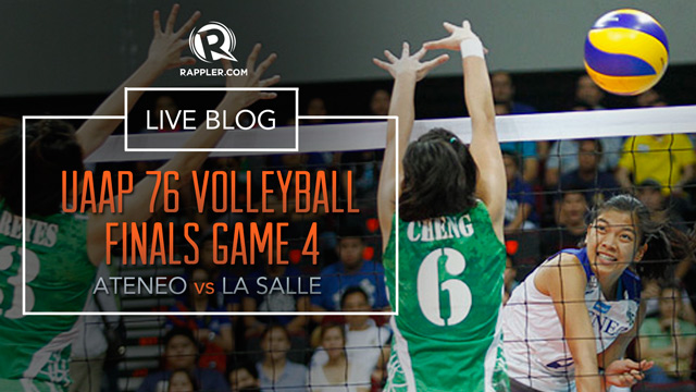 HIGHLIGHTS: UAAP Volleyball Finals, Ateneo vs La Salle Game 4