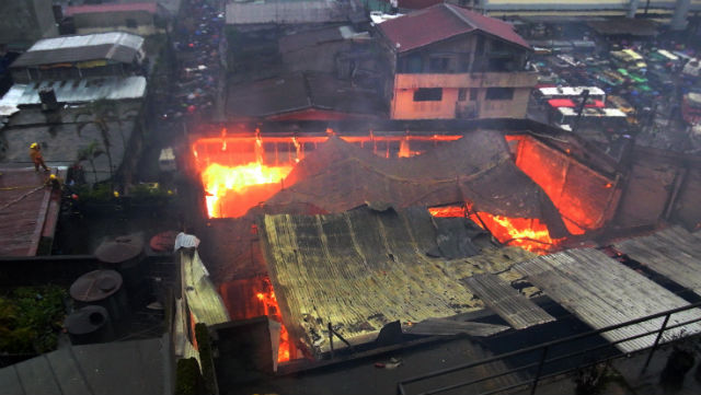 BAGUIO CITY, Philippines - A 3-storey high school building was damaged ...