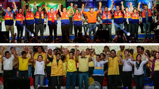BAGUO RALLIES. UNA and Team PNoy heat up the summer capital Sunday, March 16