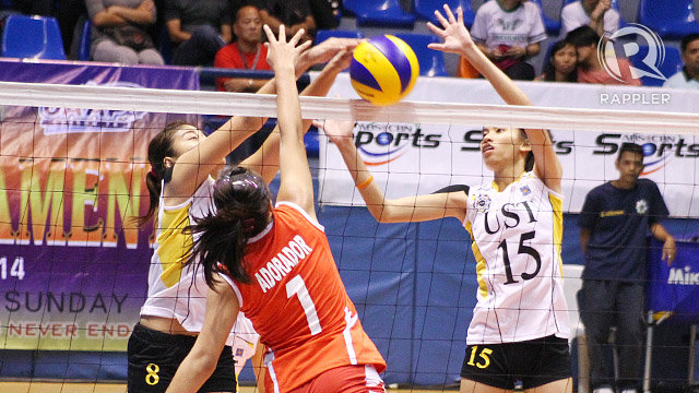 UAAP Volleyball: Golden Tigresses defeat the Lady Warriors in four sets