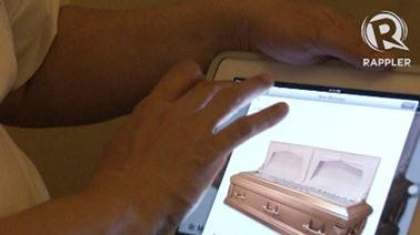 THERE'S AN APP FOR THAT! Yes, even for coffin-shopping