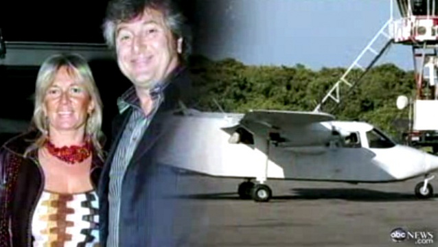 MISSING. Vittorio Missoni and his wife Maurizia disappeared off the coast of Venezuela with 4 others. Screen grab from video posted by ABCNews
