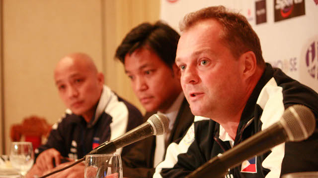 Azkals head coach Michael Weiss. File photo by Sherwin Nasol