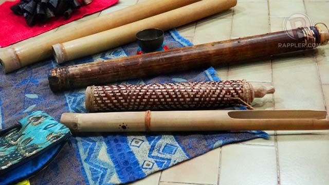 Filipino indigenous instruments and their music are a staple at Ginhawa workshops