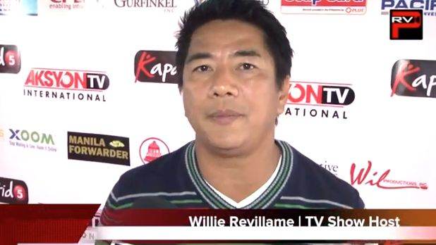 THAT'S A WRAP? Fans and the industry wonder if Willie Revillame is, in fact, pulling the plug on his show. Screen grab from YouTube (PacificRimVideoPress)