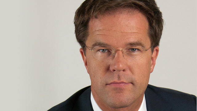 Dutch Prime Minister Mark Rutte. Dutch Prime Minister Mark Rutte. http://www.government.nl/