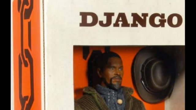 RACIST. eBay deems the 'Django Unchained' dolls offensive and bans their sale. Screen grab from YouTube (SanfordWatch)