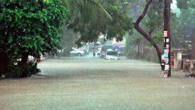 LAST STORM? Quinta is the 17th and probably last storm of 2012 for the Philippines. Crowdsourced photo from Facebook