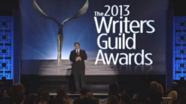 HONORING THE WRITERS. The Writers Guild Awards honor the people behind winning screenplays and scripts. Screen grab from YouTube (Apelsin Ka)