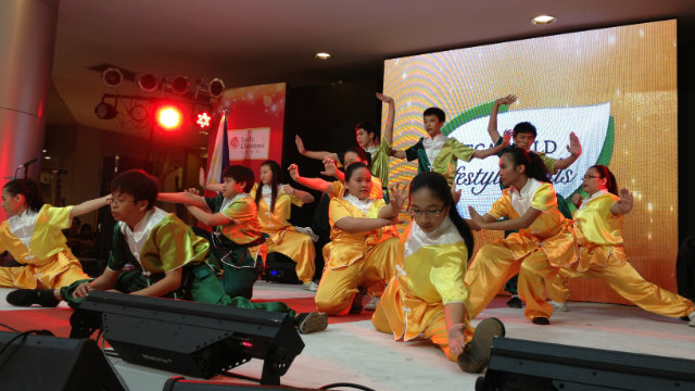 POWERFUL ENDING. Members of the Philippine Buddhacare Academy strike a pose at the end of the exhibition.