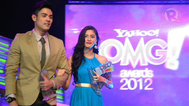LOVE TEAM OF THE YEAR Xian Lim and Kim Chiu. All photos by Emil Sarmiento