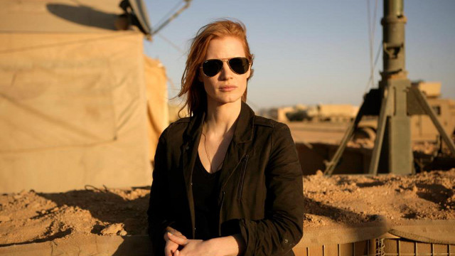 HUMILIATING? Jessica Chastain in 'Zero Dark Thirty.' Photo from the 'Zero Dark Thirty' Facebook page