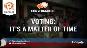 Voting: It's all just a matter of time